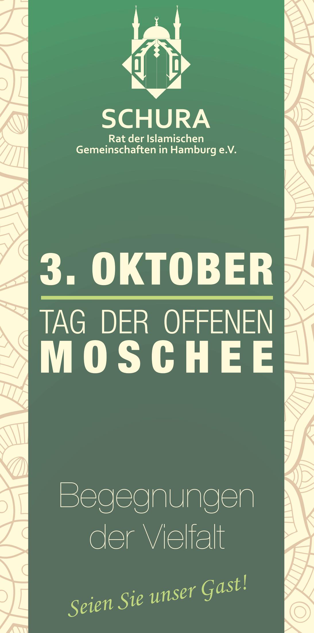 3. Oktober: Tag der offenen Moschee